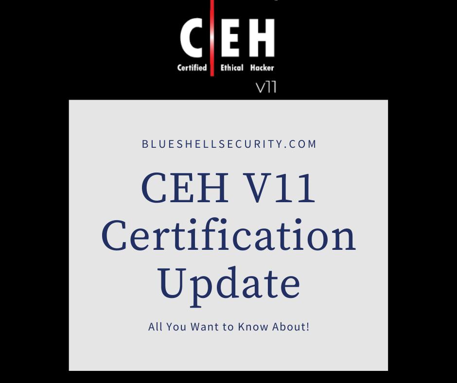 ceh v11 certification update