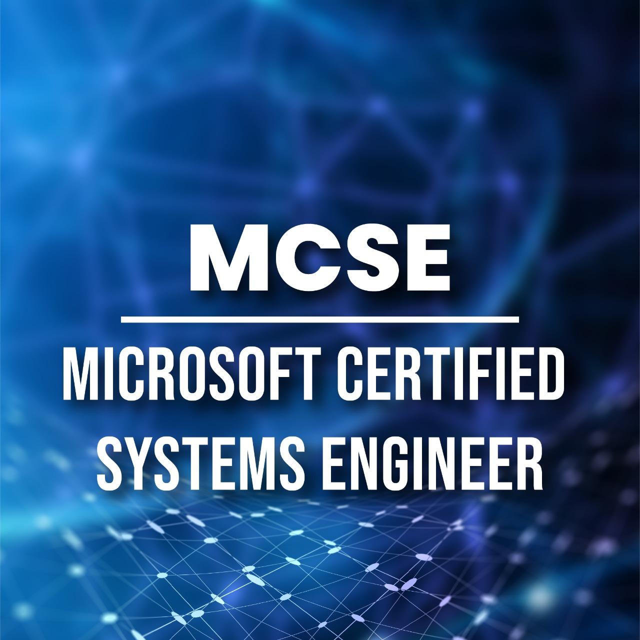 MCSE (Microsoft Certified System Engineer)